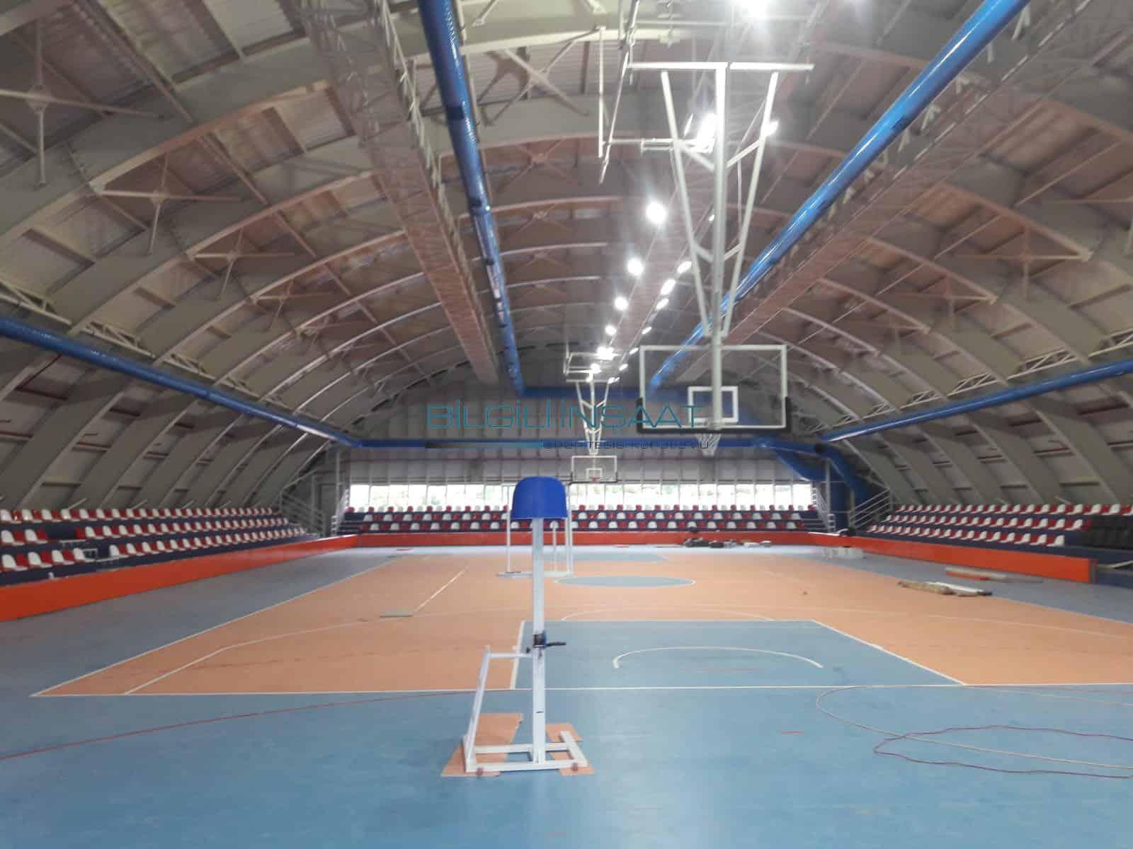 Isparta Davraz Kapalı Spor Salonu Yapımı