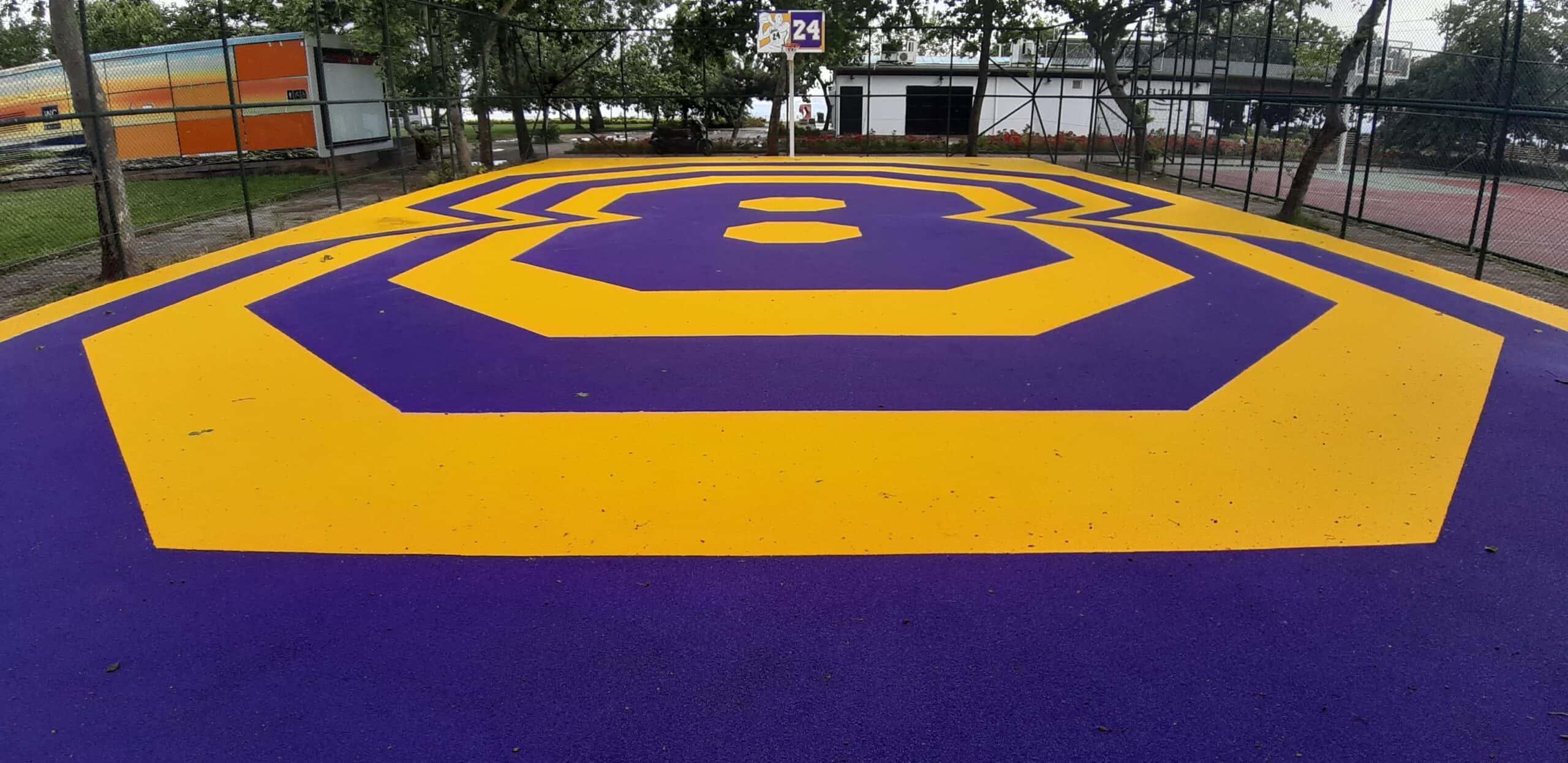 Caddebostan Basketbol Sahası Yapımı